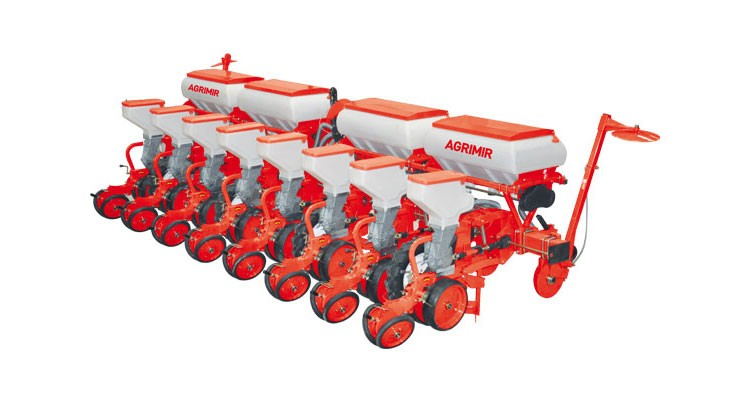 Agrimir-Pneumatic Precision Seed Drill - Disc Type